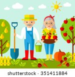 vector illustration of adult... | Shutterstock .eps vector #351411884