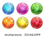 cartoon colorful bubbles with...