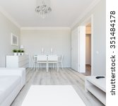 photo of modern style flat... | Shutterstock . vector #351484178