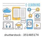 e learning. online education....