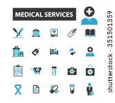 medicine research  medical... | Shutterstock .eps vector #351501359