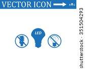 fluorescent lamp   Shutterstock .eps vector #351504293