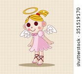 angel theme elements | Shutterstock .eps vector #351519170