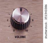 volume switch  close up  focus...