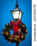 Lamp Wreath   Vertical Color...