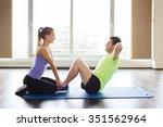 fitness  sport  training ... | Shutterstock . vector #351562964