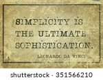 Simplicity Is The Ultimate...