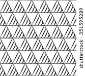 black and white geometric... | Shutterstock .eps vector #351595289