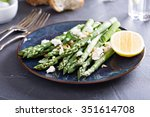 Warm Salad With Asparagus  Fet...