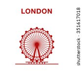 Vector Illustration Of London...