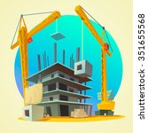 House Building Concept With...