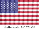 flag of united states   Shutterstock . vector #351695558