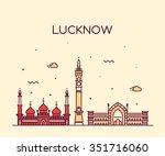 Lucknow Skyline  Detailed...