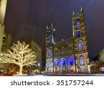 montreal  canada   november 26  ... | Shutterstock . vector #351757244