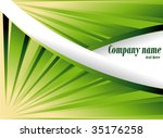 abstract background with green... | Shutterstock .eps vector #35176258