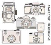 camera vector  | Shutterstock .eps vector #351765989