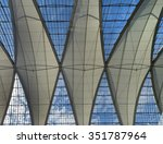 decorative ceiling tents at sky ... | Shutterstock . vector #351787964