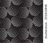 vector geometric seamless... | Shutterstock .eps vector #351810848