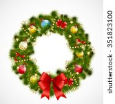 abstract beauty christmas and... | Shutterstock .eps vector #351823100