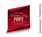 Valentines Day Party Poster...