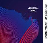 curve composition have a sense... | Shutterstock .eps vector #351831050