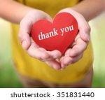 thanksgiving card | Shutterstock . vector #351831440