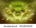 abstract fractal red background ... | Shutterstock . vector #351854030
