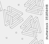 pattern geometric seamless... | Shutterstock .eps vector #351856448