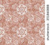 repeating ornamental pattern... | Shutterstock .eps vector #351860888