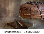 Chocolate Cake With Mascarpone...