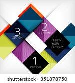 paper style design templates ...   Shutterstock .eps vector #351878750