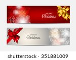 christmas snowflakes website... | Shutterstock . vector #351881009
