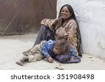 leh  india   june 24  2015 ... | Shutterstock . vector #351908498