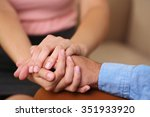 concept of support   man and... | Shutterstock . vector #351933920