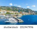 monte carlo  monaco  august 17  ... | Shutterstock . vector #351947996