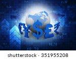 global currencies | Shutterstock . vector #351955208