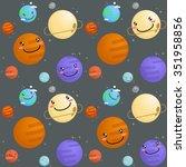 space pattern vector...   Shutterstock .eps vector #351958856