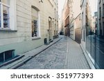riga  latvia   circa july 2014  ... | Shutterstock . vector #351977393