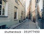 riga  latvia   circa july 2014  ... | Shutterstock . vector #351977450