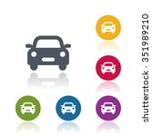 car icon | Shutterstock .eps vector #351989210