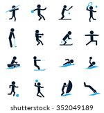 shapes sports symbol for web... | Shutterstock .eps vector #352049189