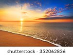 Beautiful Tropical Sunrise On...