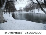 winter park duck pond | Shutterstock . vector #352064300