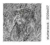 jesus christ  crown of thorns  | Shutterstock . vector #35206657