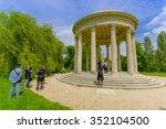 paris  france   june 1  2015 ... | Shutterstock . vector #352104500