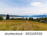 Panorama View Of Zurich Lake...