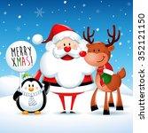 merry xmas  santa claus and...