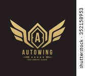 auto wing  car and automotive... | Shutterstock .eps vector #352158953