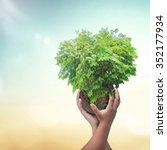 world environment day concept ... | Shutterstock . vector #352177934