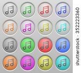 set of music plastic sunk...